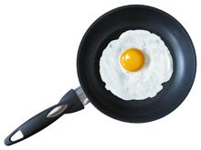 глазунья яичница