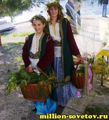Праздник мимоз в Черногории