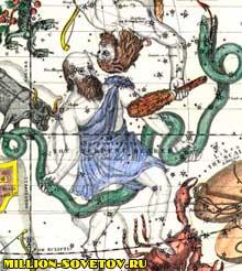 змееносец, тринадцатое созвездие
