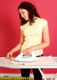гладить на гладильной доске