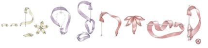 основные стежки вышивки лентами