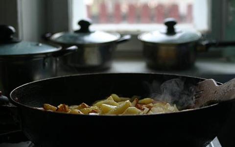 жарка картофеля