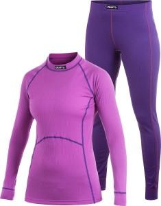 Женское термобелье: водолазка и штаны