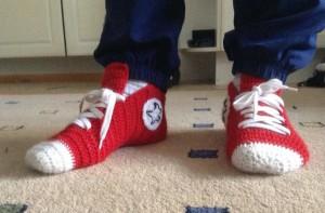 Теплые носки в форме футбольных берцев